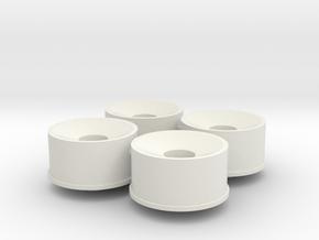 4x21erFelge_3_Hinten_leicht in White Natural Versatile Plastic