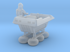 SPACE 2999 1/72 BUGGY W ASTRONAUT in Smooth Fine Detail Plastic