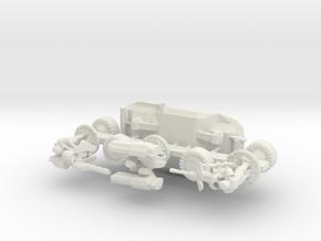 Scifi Marine Attack Buggy Sprue in White Natural Versatile Plastic: 15mm