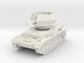 Flakpanzer IV J Ostwind 1/72 in White Natural Versatile Plastic