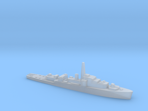 HMS Loch class 1:1800 WW2 frigate in Smoothest Fine Detail Plastic