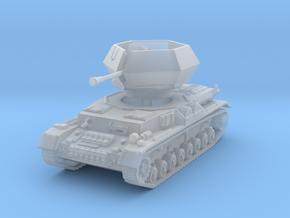 Flakpanzer IV J Ostwind 1/120 in Smooth Fine Detail Plastic