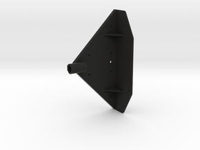 UDB001 Drawbar upper Part in Black Natural Versatile Plastic