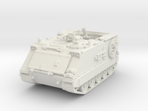 M106 A1 Mortar (open) 1/87 in White Natural Versatile Plastic