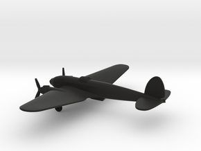 Heinkel He 111 H-6 in Black Natural Versatile Plastic: 6mm