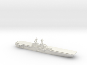 USS Makin Island (LHD-8), 1/1800 in White Natural Versatile Plastic