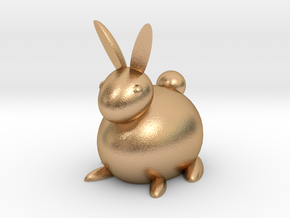 [1DAY_1CAD] RABBIT in Natural Bronze