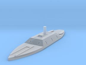 1/1000 CSS Columbia in Smooth Fine Detail Plastic