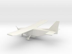 GippsAero GA8 Airvan in White Natural Versatile Plastic: 1:64 - S