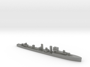 HMS Codrington 1:1800 WW2 destroyer in Gray PA12