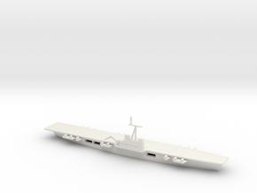 1/1250 Scale HMS Majestic in White Natural Versatile Plastic