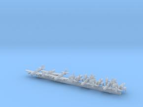 Firefly MKIV/V/VI w/Gear x8 (FUD) in Smooth Fine Detail Plastic: 1:700