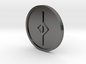 Jear Coin (Anglo Saxon) in Polished Nickel Steel