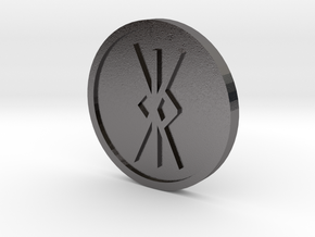 Kalk [kk] Coin (Anglo Saxon) in Polished Nickel Steel