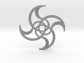 Spiralina in Gray PA12