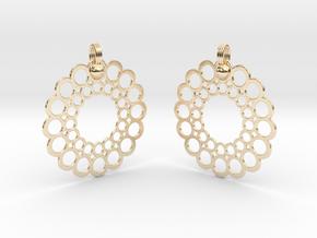 Rings Earrings in 14K Yellow Gold