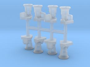 RN standard loudspeakers x8 1:96 in Smooth Fine Detail Plastic