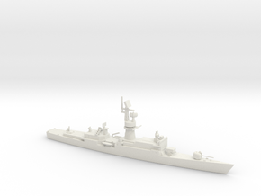 1/700 Scale Baleares class Missile Frigate Modifie in White Natural Versatile Plastic