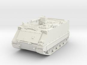M113 A1 (closed) 1/76 in White Natural Versatile Plastic