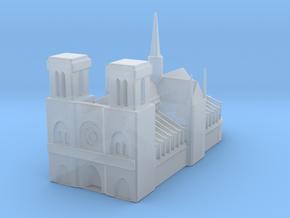 Notre Dame de Paris 1/1250 in Smooth Fine Detail Plastic