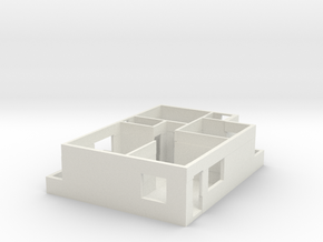 Floorplan | Floor plan  in White Natural Versatile Plastic: 1:100