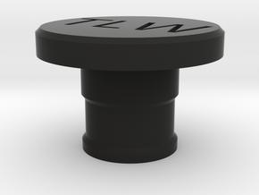 Volks Wagen Golf Center Console Lighter plug Cover in Black Natural Versatile Plastic