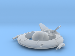 AC-190 Light Fightercraft in Smooth Fine Detail Plastic