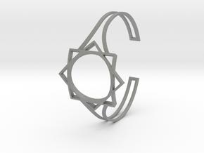 Seal of Melchizedek Bracelet in Gray PA12: Small