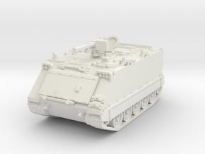 M113 A1 (open) 1/76 in White Natural Versatile Plastic