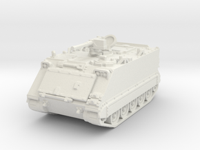 M113 A1 (open) 1/72 in White Natural Versatile Plastic