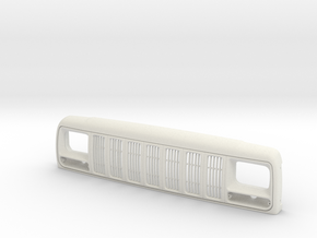 RCN214 Grill for Injora Jeep Cherokee XJ Hardbody in White Natural Versatile Plastic