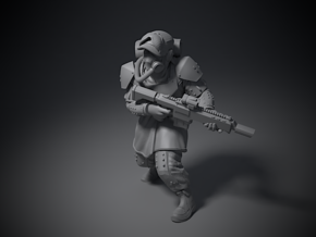 Guardsmen - C in Smoothest Fine Detail Plastic