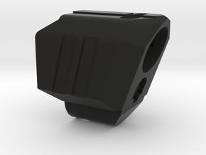 Deranged VP9 compensator CCW in Black Natural Versatile Plastic