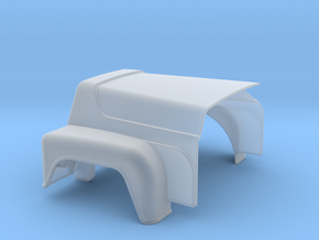Hood-RD-1to43 in Smooth Fine Detail Plastic