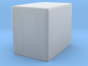 sleeper-RD-1to43 in Smooth Fine Detail Plastic