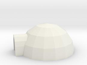 [1DAY_1CAD] IGLOO in White Premium Versatile Plastic