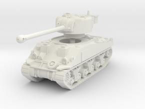 Sherman VC Firefly 1/76 in White Natural Versatile Plastic