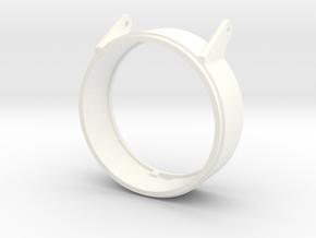 SEEHUND Typ127 XXVII 1:24 Turmsüll (kurz) in White Processed Versatile Plastic