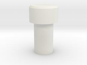 Kill Key3 in White Natural Versatile Plastic