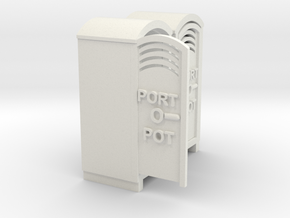 PORTOPOT   in White Natural Versatile Plastic