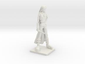 Fantasy Figures 08 - Rogue in White Natural Versatile Plastic