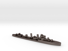 HMS Hardy destroyer 1:2400 WW2 in Polished Bronzed-Silver Steel