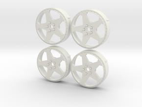 MST Inserts 365power Replica in White Natural Versatile Plastic