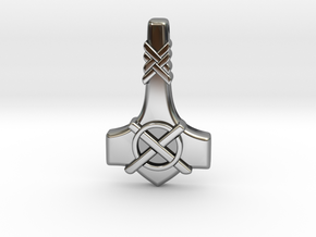 Thor's Hammer Mjolnir  - Type-1 in Antique Silver