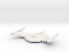 Romulan WarBird V2 in White Natural Versatile Plastic