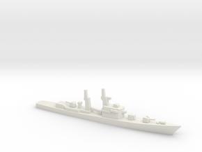 Takatsuki-class destroyer, 1/1250 in White Natural Versatile Plastic