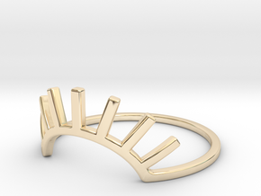 See No Evil Ring in 14K Yellow Gold: 7 / 54