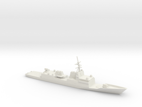 1/700 Scale General Dynamics FFG(X) Proposal in White Natural Versatile Plastic