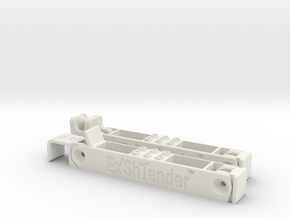 Exshtender XL in White Natural Versatile Plastic