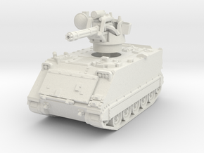 M163 A1 Vulcan (early) 1/72 in White Natural Versatile Plastic